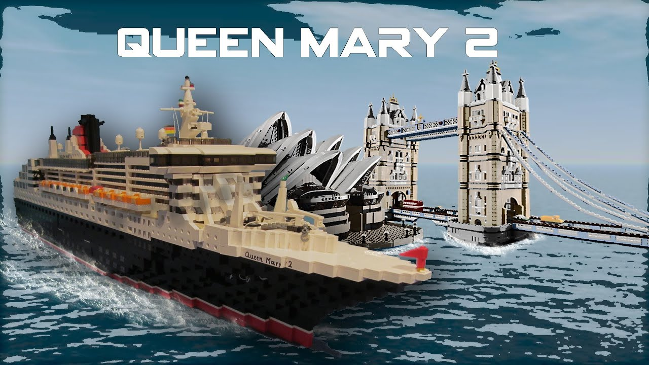 The Lego Queen Mary 2
