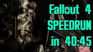 Fallout 4 World Record Speedrun in 40:45