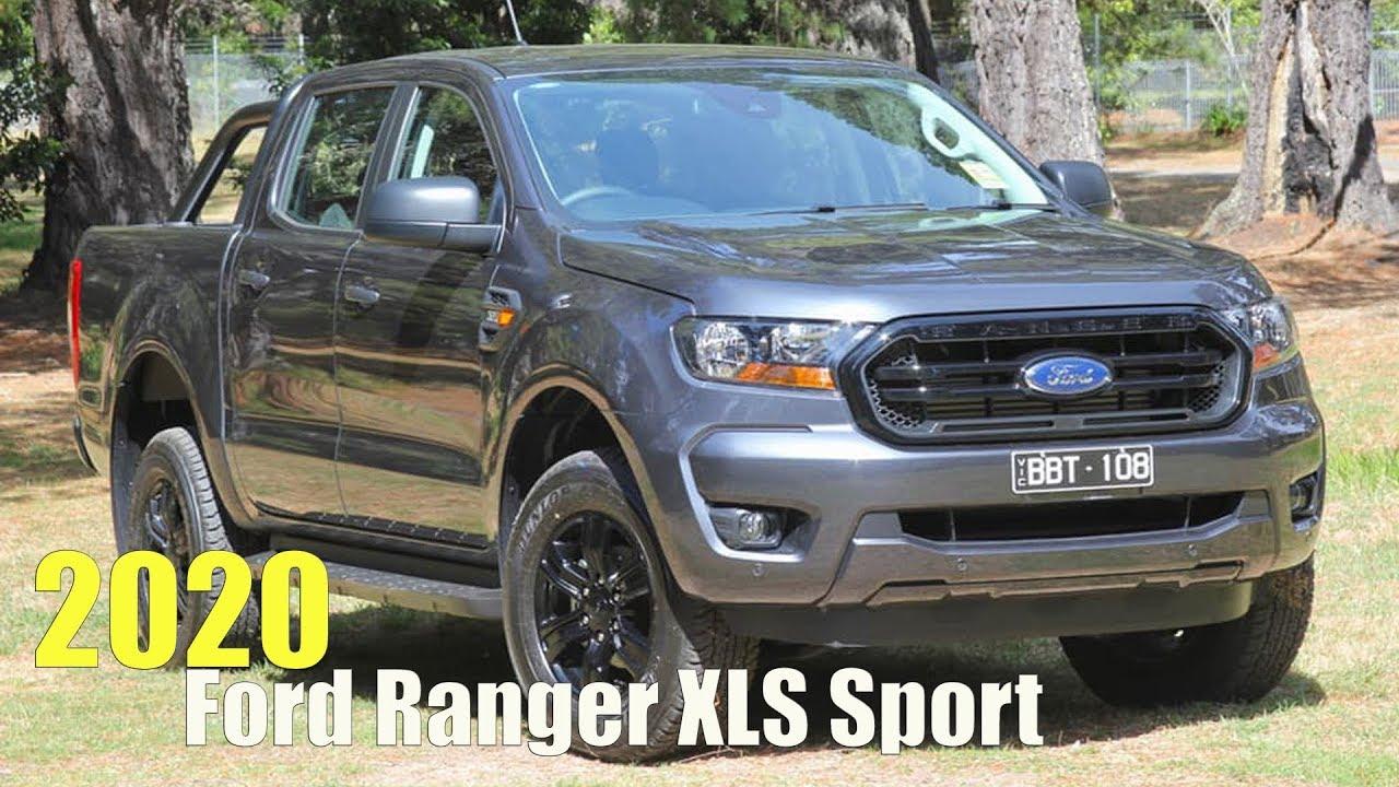 2020 Ford Ranger Xls Sport Youtube