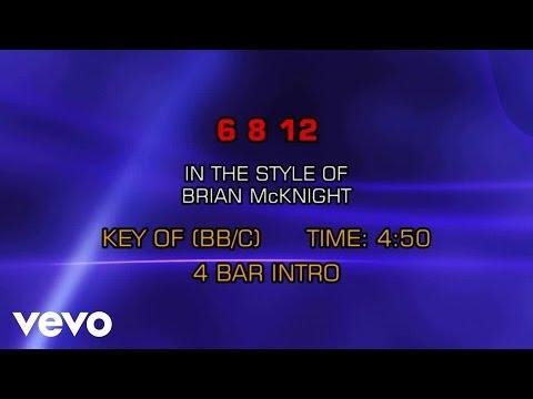 Brian McKnight - 6 8 12 (Karaoke)