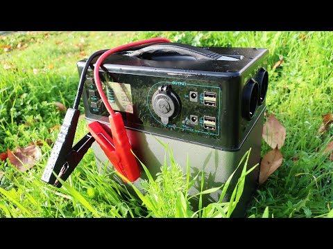 Energia Gratis | Generador Electrico Solar (400wh) Electricidad En Casa, Coche O Furgonetas Camper thumbnail