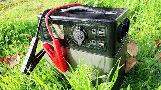 ENERGIA GRATIS | Generador Electrico Solar (400wh) Electricidad en Casa, Coche o Furgonetas Camper