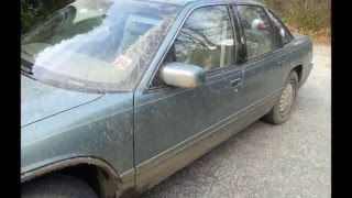 1994 Buick Regal mudding aftermath