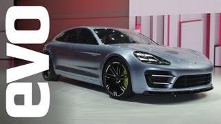 Porsche Panamera Sport Turismo Concept Car 2012 Videos
