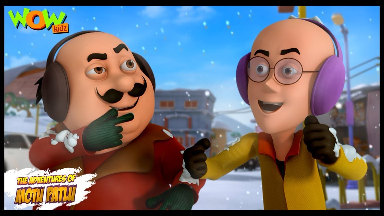 Download Cartoons | New Episodes Of Motu Patlu | Weather Out Of Control | Wow Kidz