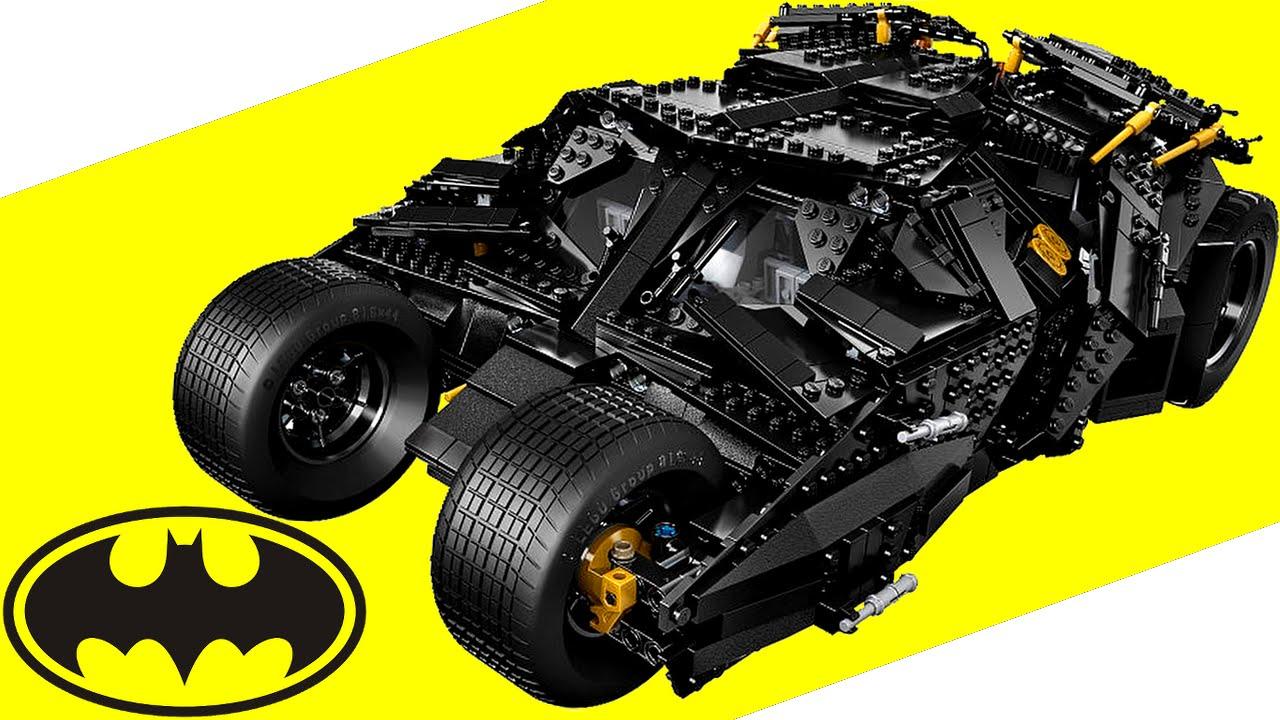 LEGO Batman UCS Tumbler 76023 Review - YouTube