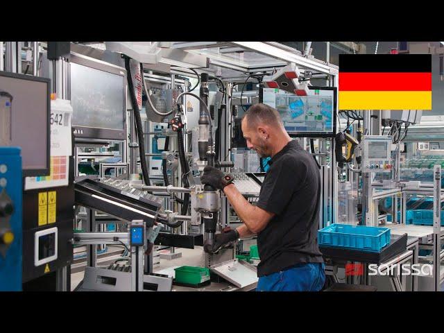 Sarissa im Einsatz bei Schwäbische Formdrehteile GmbH & Co. KG in Babenhausen