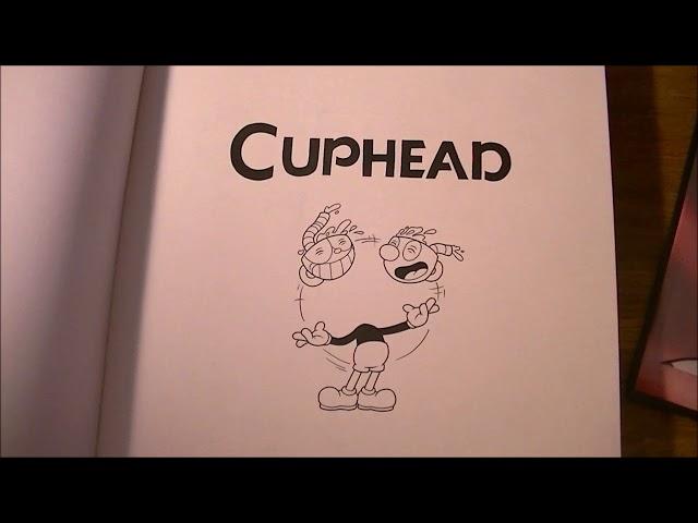 Tout L' Art de Cuphead - edition collector - premier aperçu