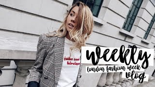 London Fashion Week: September 2017 | Weekly Vlog | Copper Garden