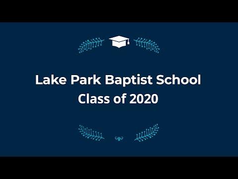 Lake Park Baptist School Class of 2020 8th Grade Graduation