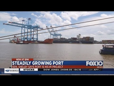 Port of Mobile growth