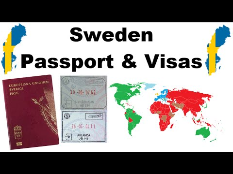 Sweden - Passport & Visas