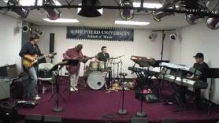 Abraham Laboriel, Otmaro Ruiz, Allen Hinds, Jimmy Branly masterclass at Shepherd University