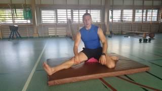 Zerwane więzadła w kolanie  #2- właściwa praca biodra - siad płotkarski