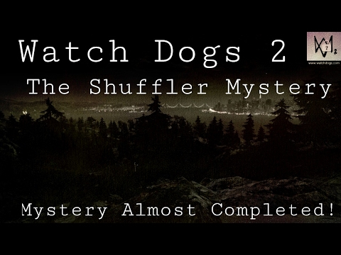 Watch Dogs 2 - The Shuffler Mystery #1| 1 - 4 Graffitis Found!
