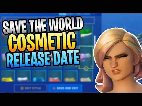 FORTNITE - New Save The World Cosmetics, Backblings, And Outfits Release Date