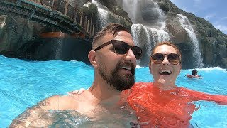 A Very Busy Fun Day At Universal's Volcano Bay Water Park! | Lazy River, Food & Water Slides!