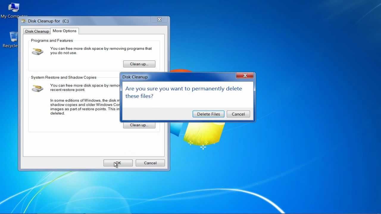 diskshadow reset