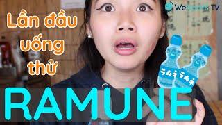Lần đầu uống thử Ramune Nhật Bản và cái kết 😭