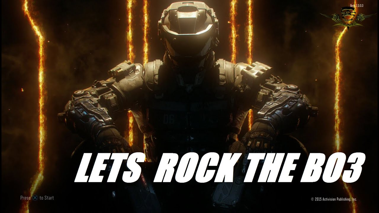 CALL OF DUTY : BO3 LETS RANK UP - NOOB IN ACTION - PLAYSTATION 4 - LIVE ON YOUTUBE