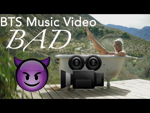 The making of BAD: BTS