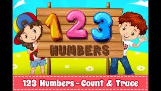Learn to Trace 123 Numbers (1-20)  in 2 minutes for children - Android App