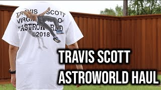 TRAVIS SCOTT ASTROWORLD MERCH HAUL