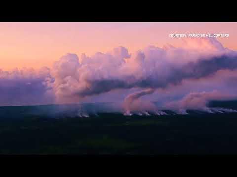 Lava, ash spew from Hawaii's Kilauea volcano