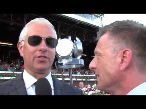 Post Race Interview - Woodward Stakes with Todd Pletcher