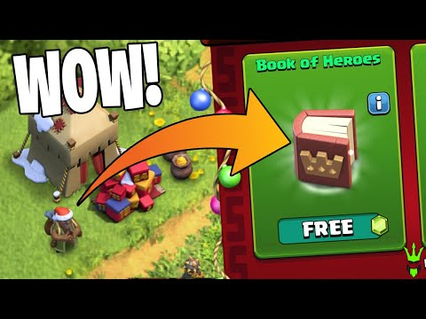 EVERYONE IS GETTING A FREE BOOK OF HEROES! - Clash Of Clans
