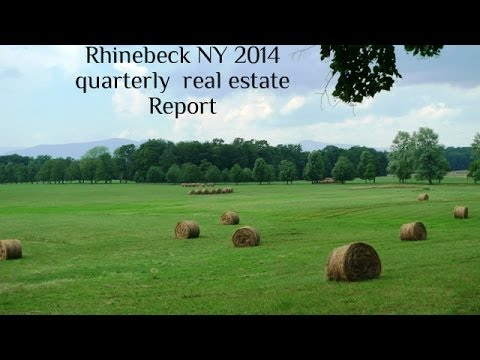 Rhinebeck NY real estate 2014 quarterly report video