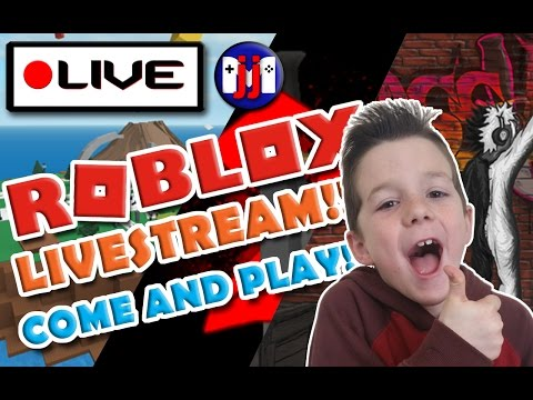 OMG RussoPlays raided my livestream!  Roblox GAMES AND MORE!! Join in the fun on this livestream!