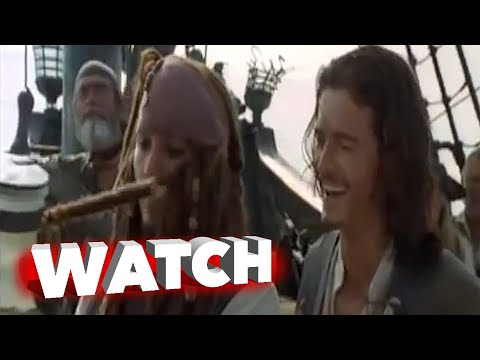 Pirates of the Caribbean: Dead Man's Chest: Outtakes, Bloopers, Gag Reel - Johnny Depp
