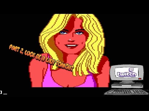 Oldest Computer on Twitch Leisure suit Larry Part 2