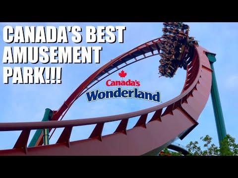 Canada's BEST Amusement Park! - Canada's Wonderland! - Ft. Amusement Insiders!