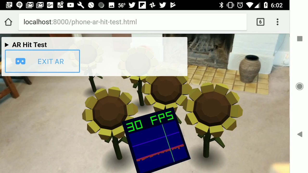 Augmented Reality For The Web Web Google Developers