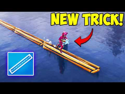 *NEW* SUPER HELPFUL BUILDING TRICK! - Fortnite Funny Fails and WTF Moments! #235 (Daily Moments)