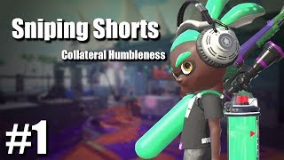 Splatoon 2 - Sniping Shorts #1: Collateral Humbleness!
