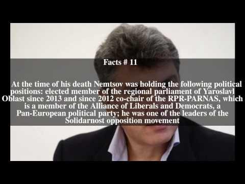 Boris Nemtsov Top # 17 Facts