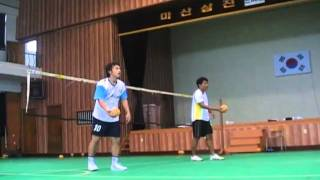 Repeat youtube video Sepak Takraw - Rolling Spike, Dubble Attack