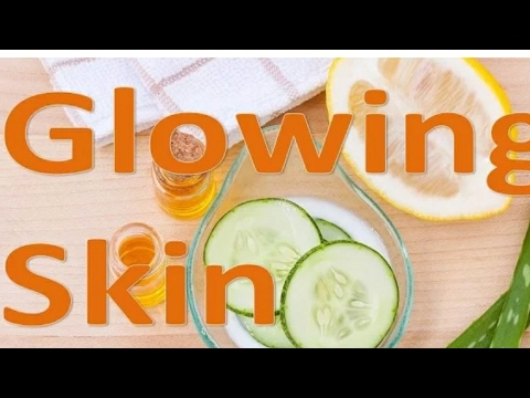how to get clear glowing face naturally