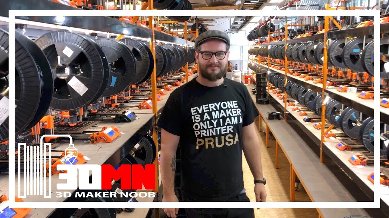 Prusalab And Prusa Research 3d Printer Factory Tour Youtube