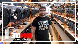 PrusaLab and Prusa Research 3D Printer Factory Tour