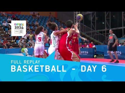 Basketball - Men's & Women's Preliminaries   Full Replay   Nanjing 2014 Youth Olympic Games