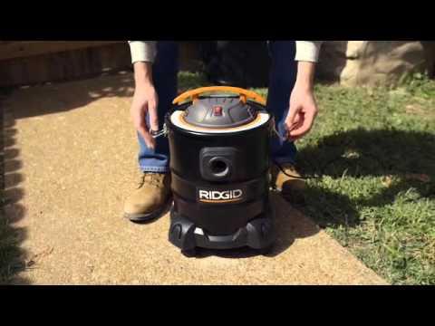 New Wet//Dry Ridgid HEPA Media Shop-Vac Filter for DV0500 Ash Vacuum Cleaner
