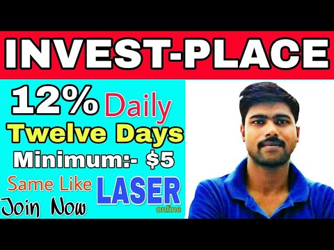 INVEST-PLACE.CLUB | 12% Daily For 12 Days | Same Like Laser.online | Join Now To Earn More (hindi)