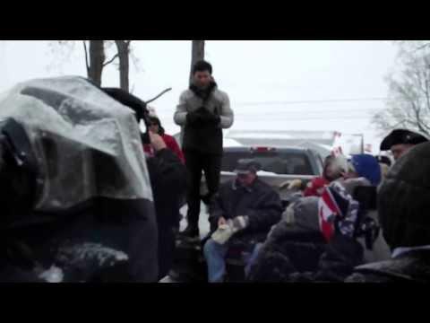NDP Paul Dewar's speach at the farm Feb 9 2014
