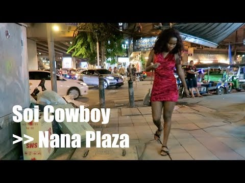 Bangkok Night walk - Cowboy to Nana - Aug 2017