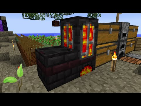 Minecraft Mods Regrowth - CRUCIBLE FURNACE [E06] (Modded HQM)