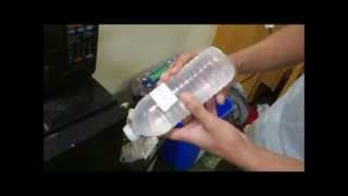How to super freeze water